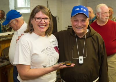 Jane Ritger and Fr. Tom Schmied